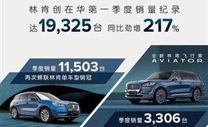 国产车型近85%,创林肯入华一季度销量新高