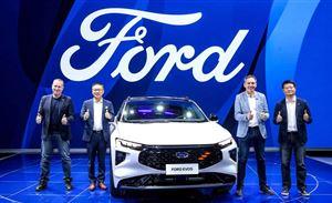 跨界风格设计,福特EVOS瞄准高端中大型SUV细分市场