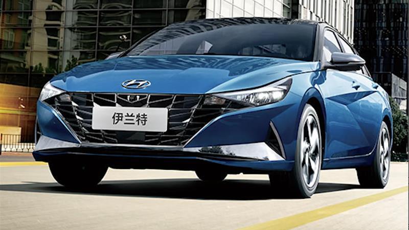 北京现代2021款1.5LGLS领先版伊兰特落地价